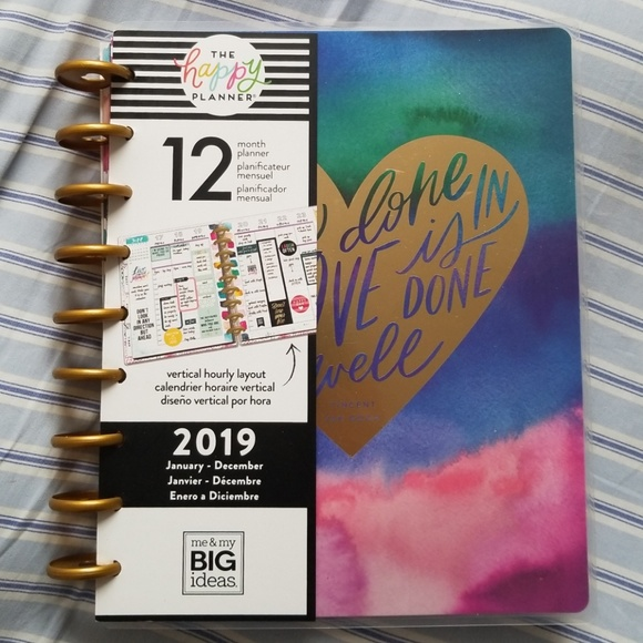 The happy planner 2019